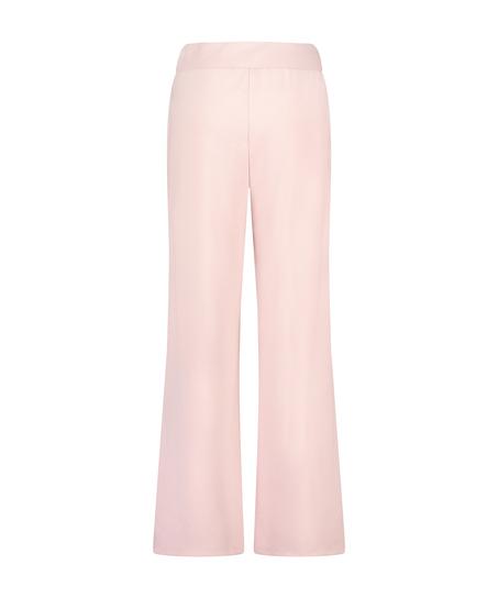 Pantalon Jambe Large, Violet