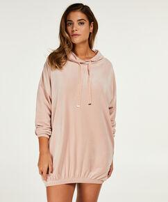 Peignoir Velours Dress, Rose