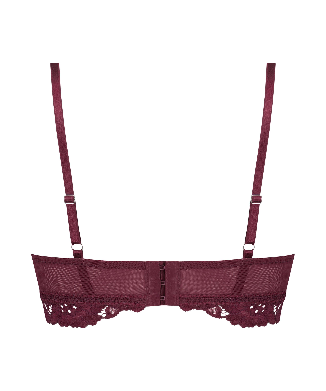 Soutien-gorge préformé sans armatures longline Shiloh, Rouge, main