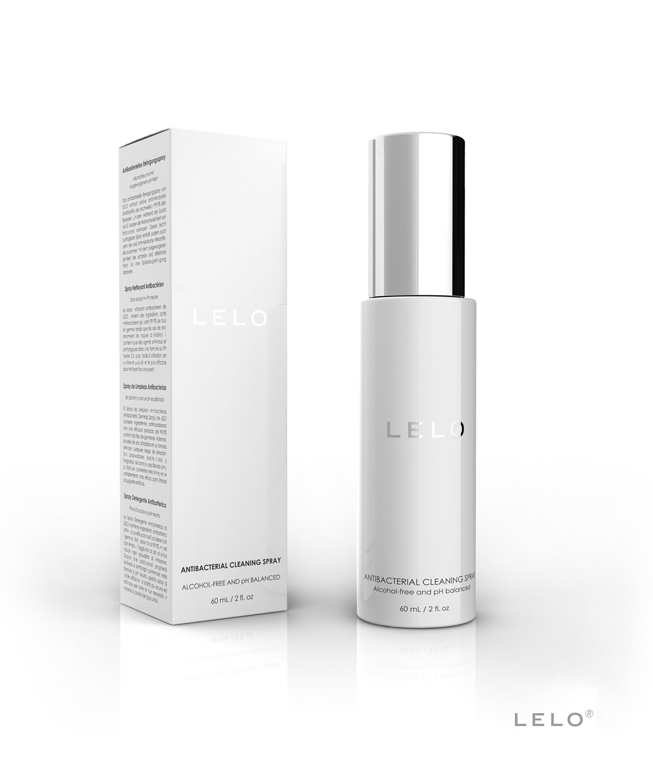 LELO Premium Cleaning Spray 60 ML, Noir, main