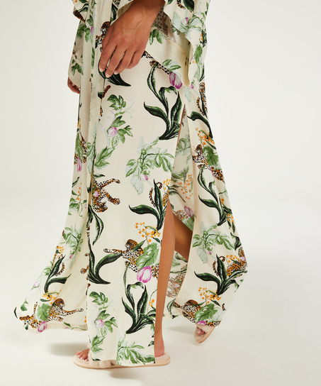 Kimono long Leo, Rose