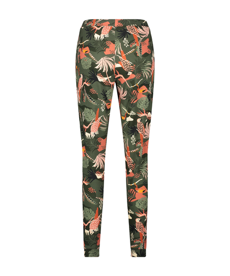 Pantalon de pyjama long Jersey, Vert