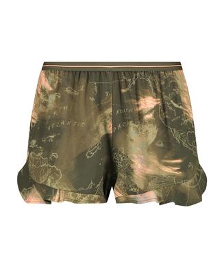 Short de pijama, Vert
