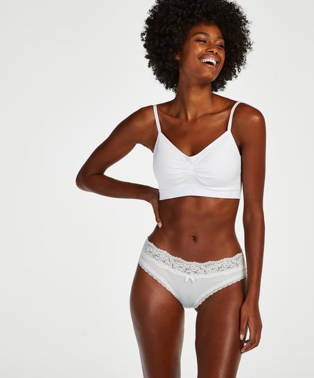 Short brésilien Dakota, Blanc