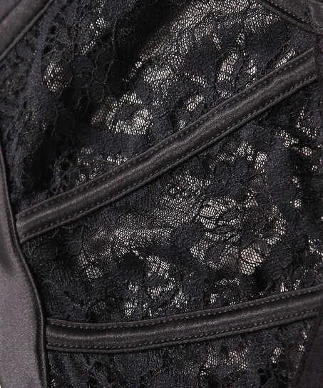 Soutien-gorge à armatures préformé Hannako, Noir