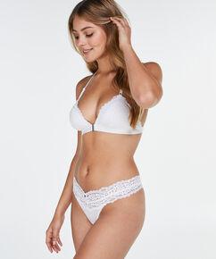 String taille ultra basse Marina, Blanc