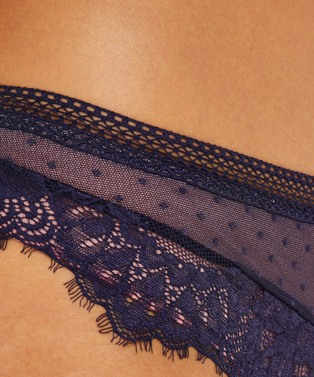 Slip brésilien Bessie, Bleu
