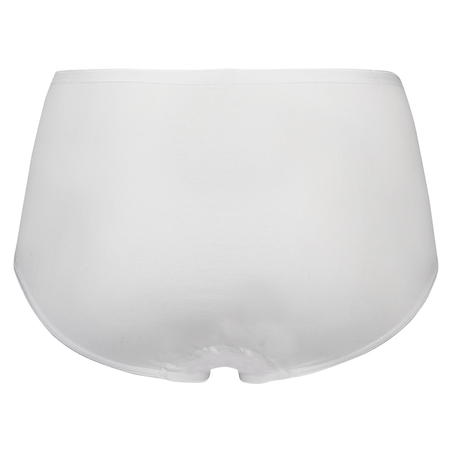 Superslip midi coton, Blanc