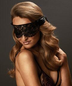 Masque Private blindfold lace, Noir