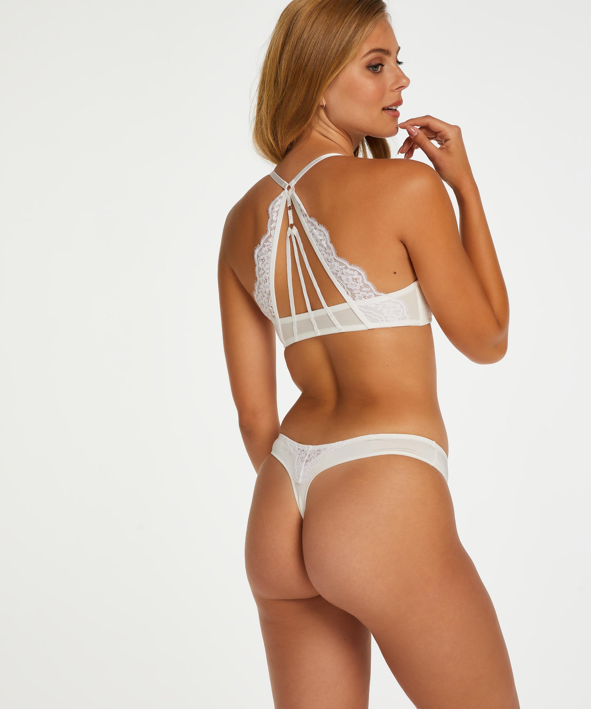 Soutien-gorge à armatures préformé push-up Melissa, Blanc, main