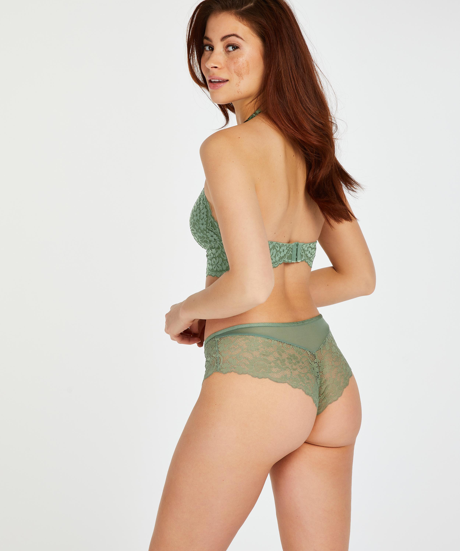 Short brésilien Mia, Vert, main