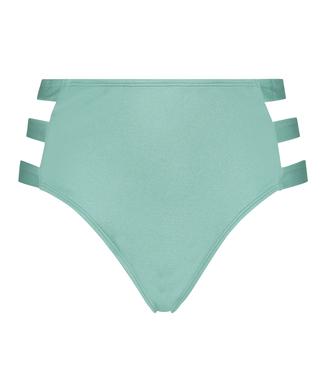 Slip de bikini taille haute coquin SoCal, Vert