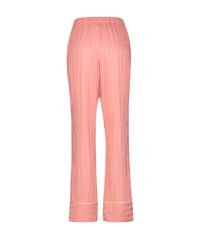 Petite Pantalon de pyjama tissé, Rose, main