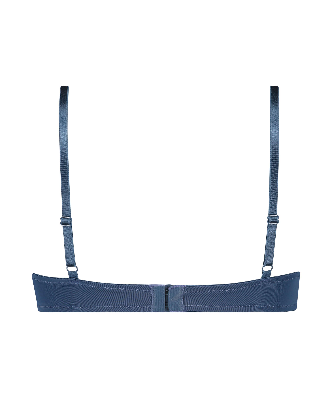 Soutien-gorge à armatures préformé Plunge, Bleu, main
