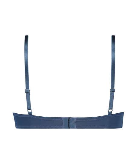 Soutien-gorge à armatures préformé Plunge, Bleu
