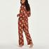Tall Pantalon de pyjama tissé, Rose