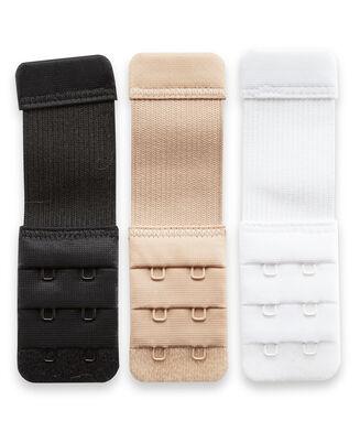 Rallonge de soutien-gorge 2 crochets, Blanc