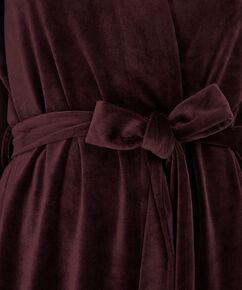 Peignoir Velvet, Rouge