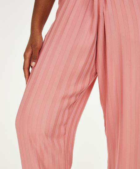 Petite Pantalon de pyjama tissé, Rose