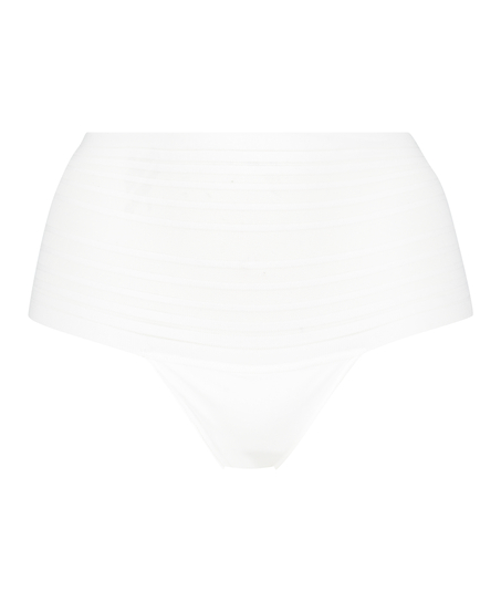 String haut invisible, Blanc
