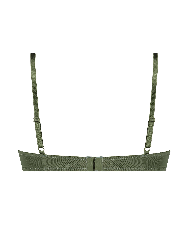 Soutien-gorge à armatures préformé Plunge, Vert, main