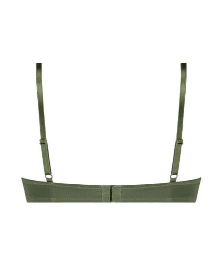 Soutien-gorge à armatures préformé Plunge, Vert