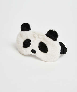 Masque de sommeil Cute Panda, Blanc