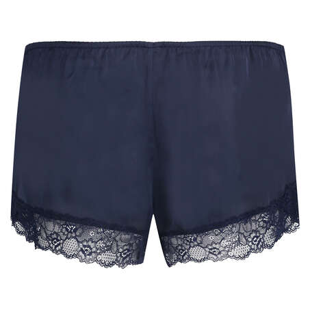 Short de pijama Satin, Bleu