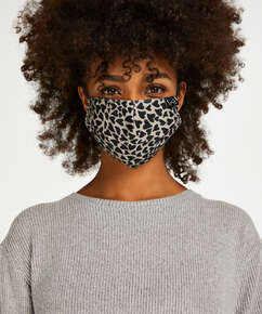 Masque Coton, marron