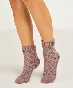 Chaussettes Knit, Violet