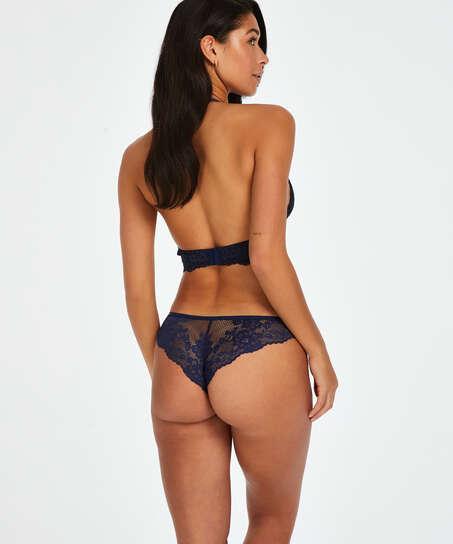 Slip brésilien Bianca, Bleu