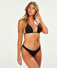 Bas de bikini taille haute Haze, Noir