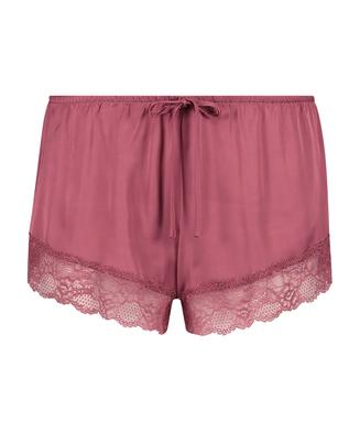 Short de pijama Satin, Rouge
