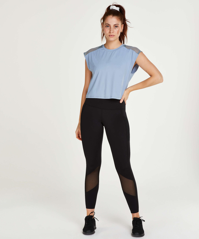 T-shirt HKMX Sport Joya, Bleu, main
