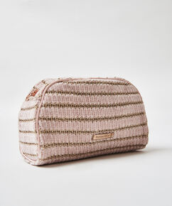 Trousse de maquillage Chenille, Rose