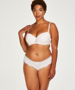 Slip brésilien Bessie, Blanc