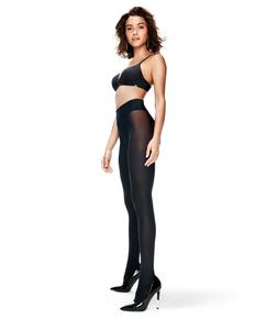 Collants 40 Denier Sans Couture Velvet Touch, Noir