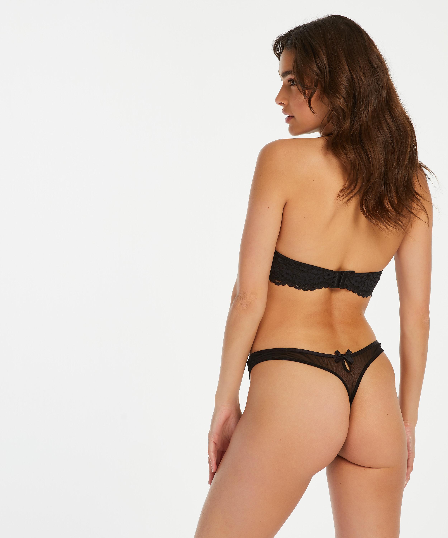 String Eliza, Noir, main