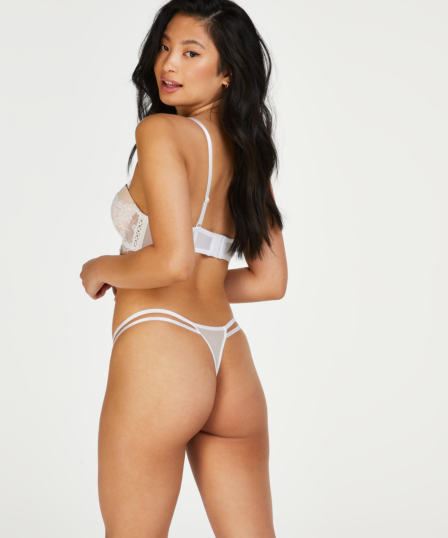 Soutien-gorge à armatures préformé Leyla, Blanc, main