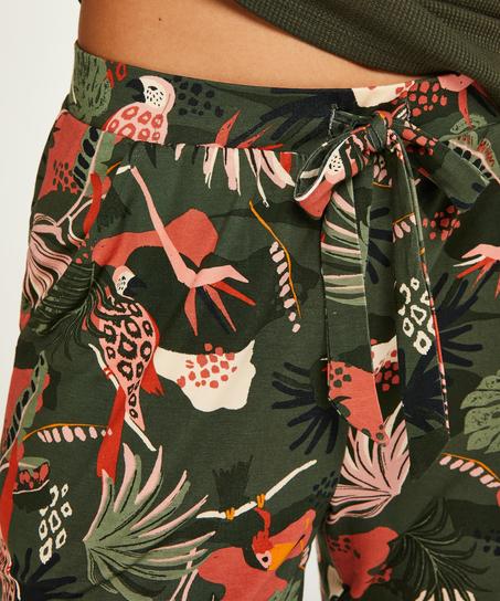 Petite pantalon de pyjama Jersey, Vert