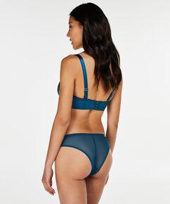 Soutien-gorge à armatures préformé sans bretelles Latrice, Bleu