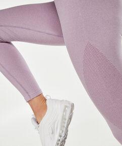 HKMX high waist legging de sport roundknit, Violet