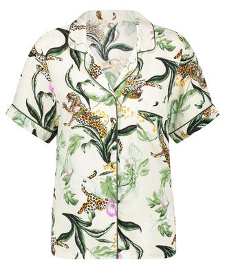 Haut de pyjama manches courtes Print, Rose