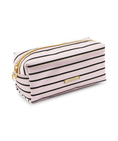 Trousse de maquillage Stripe, Rose