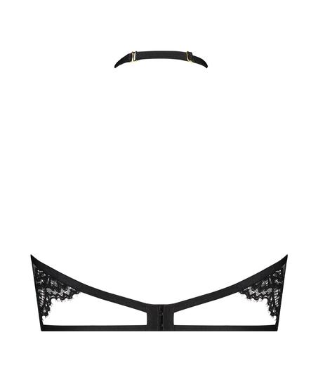 Soutien-gorge à armatures non-préformé col licou Eve, Noir
