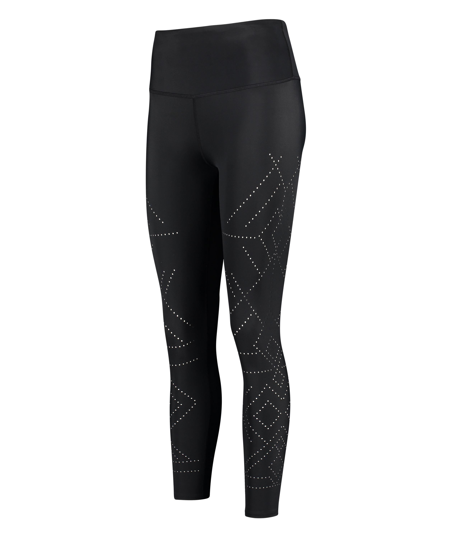 Legging de sport HKMX court Naira taille haute, Noir, main