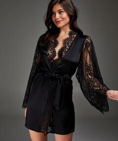 Kimono Soie, Noir