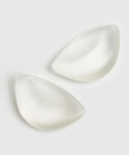 Coussinets push-up taille unique, Blanc