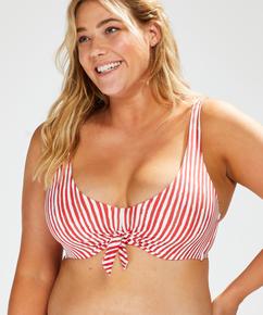 Haut de bikini à armatures non préformé Julia, Rouge