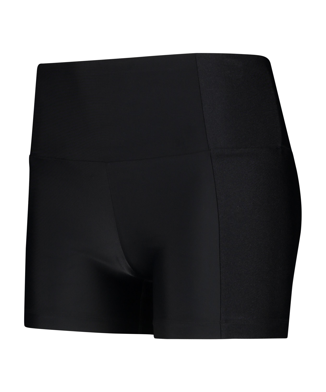 HKMX taille haute Shine On Short, Noir, main